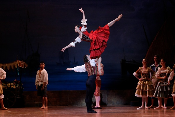 Natalia Osipova and Ivan Vasiliev in Don Quixote with The Australian Ballet. Photo: Jeff Busby