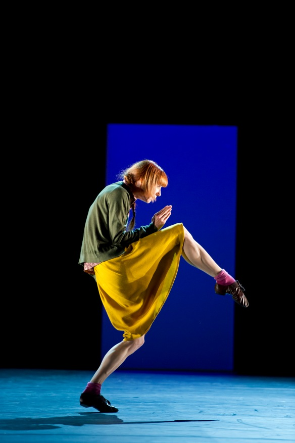 Sylvie Guillem in Bye, by Mats Ek. Photo: Bill Cooper