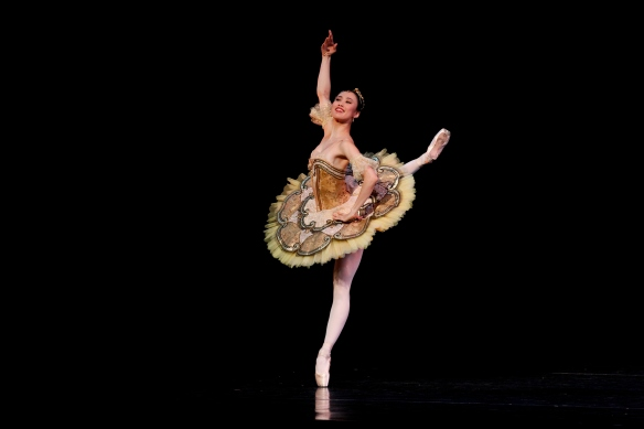 Ako Kondo in Paquita. Photo: Jeff Busby