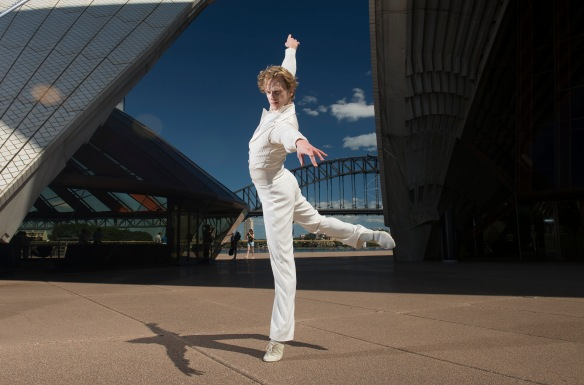 David Hallberg at the Sydney Opera House. Photo: Wendell Teodoro