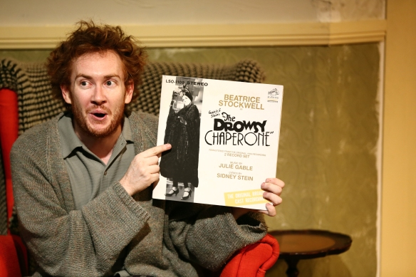 Jay James-Moody as Man in Chair. Photo: Michael Francis