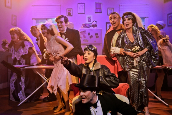 The Drowsy Chaperone company. Photo: Michael Francis