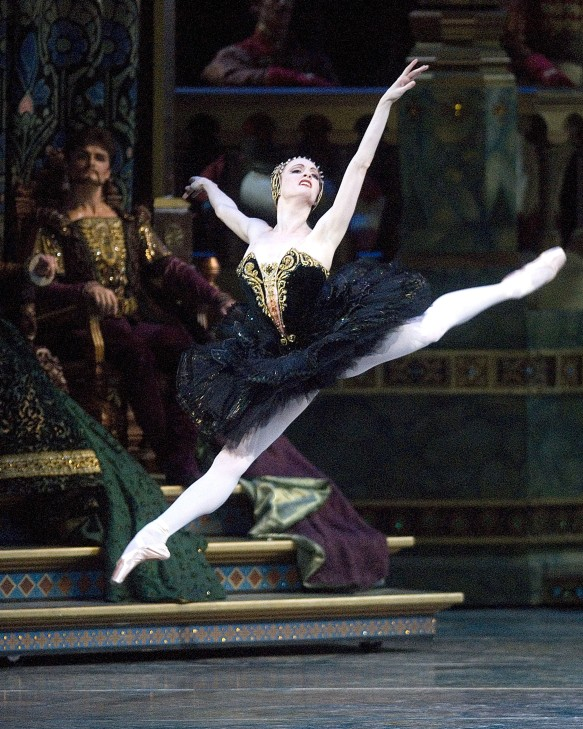 Gillian Murphy in Swan Lake. Photo: Gene Schiavone