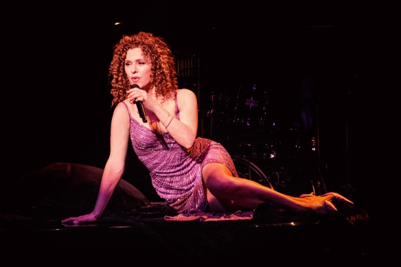 Bernadette Peters during her Sydney concert. Photo: Kurt Sneddon