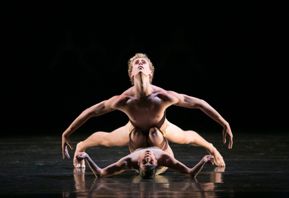 Adam Bull and Robyn Hendricks in Petite Mort. Photo: Jess Bialek