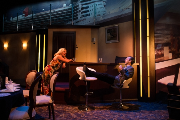 Helen Dallimore and Felix Williamson in Cruise Control. Photo: Clare Hawley
