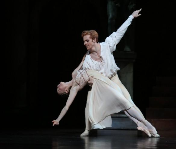 Natasha Kusch and Steven McRae in Romeo and Juliet