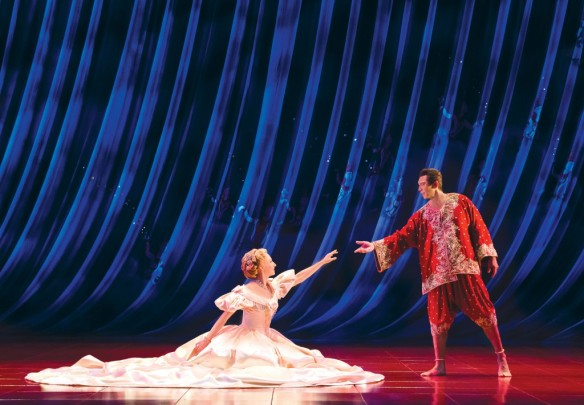 Lisa McCune and Lou Diamond Phillips in The King and I. Photo: Oliver Toth