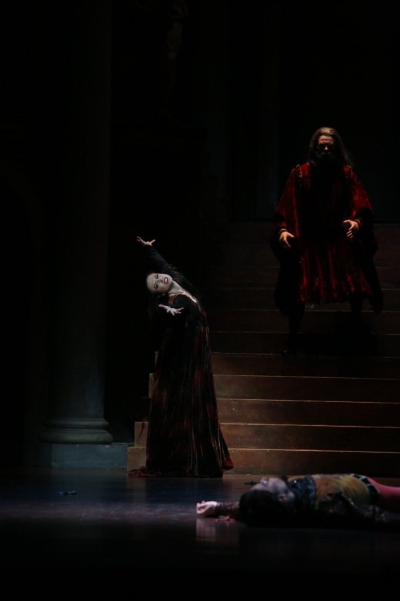 Rachael Walsh as Lady Capulet. Photo: David Kelly