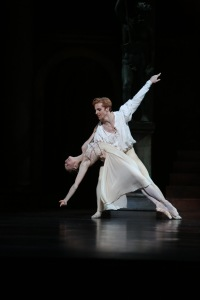 Steven McRae and Natasha Kusch in Romeo and Juliet. Photo: David Kelly