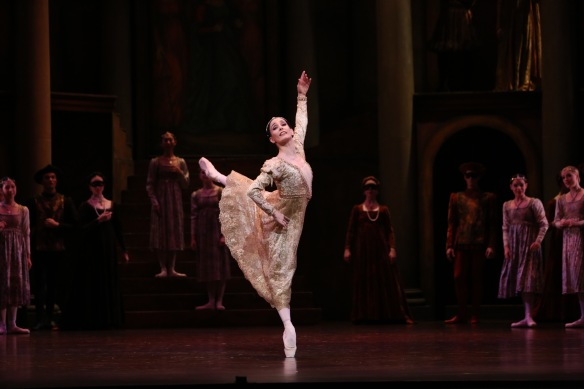 Tamara Rojo in Queensland Ballet's Romeo and Juliet. Photo: David Kelly