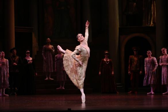 Tamara Rojo in Queensland Ballet's Romeo and Juliet. Photo: David Kelly