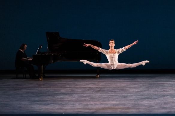 Joseph Gorak in Seven Sonatas. Photo: Darren Thomas, Photo Co