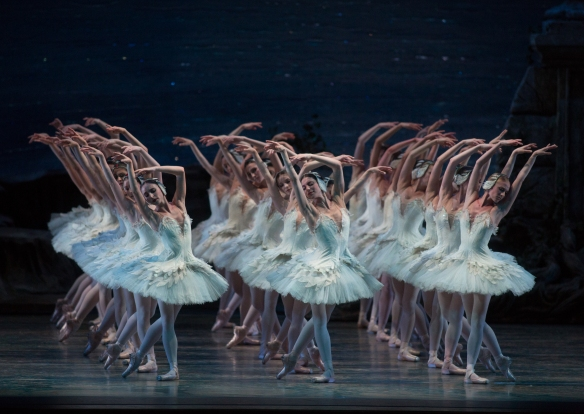 Act III of Kevin McKenzie's Swan Lake. Photo: Rosalie O'Connor
