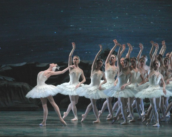 Paloma Herrera in Act II of Kevin McKenzie's Swan Lake for ABT