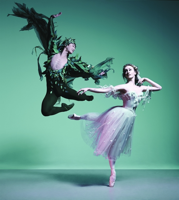 Chengwu Guo and Madeleine Eastoe in a promotional image for The Dream. Photo: Georges Antoni