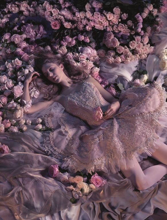 Lana Jones, Sleeping Beauty. Photo: Georges Antoni
