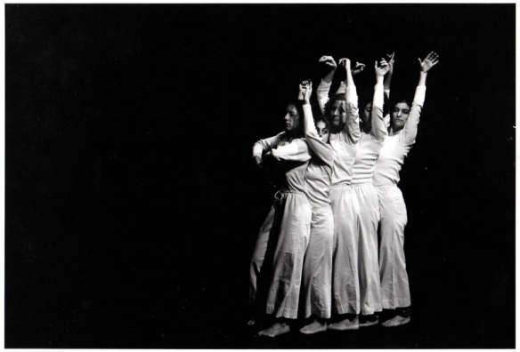 An archival image of Spanish Dance. Photo: Babette Mangolte