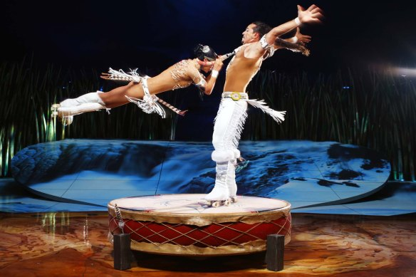 Denise Garcia-Sorta and Massimiliano Medini in Totem