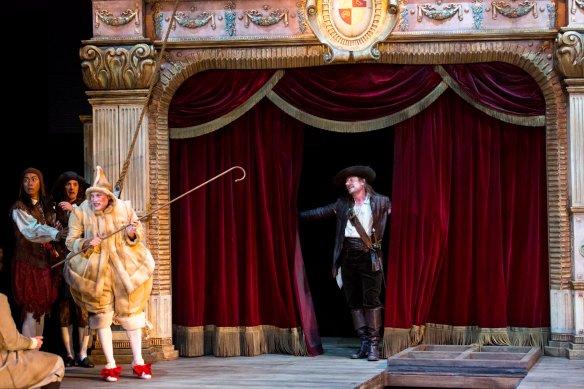 Richard Roxburgh as Cyrano. Photo: Brett Boardman