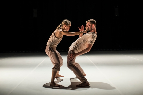 Holly Doyle and Bernhard Knauer in Do We. Photo: Peter Greig