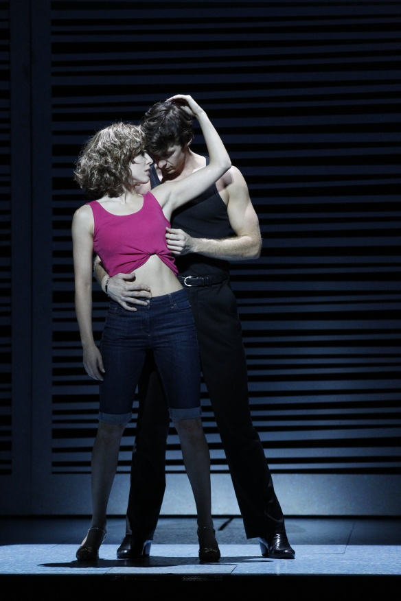 KirbyBurgess and Kurt Phelan in Dirty Dancing: The Classic Story on Stage. Photo: Jeff Busby