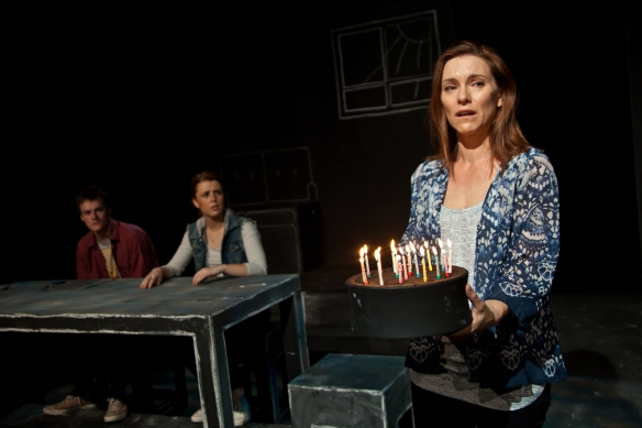 Natalie O'Donnell (foreground) in Next to Normal. Photo: Yael Stemple