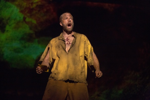 Simon Gleeson as Jean Valjean in Les Misérables. Photo: Matt Murphy