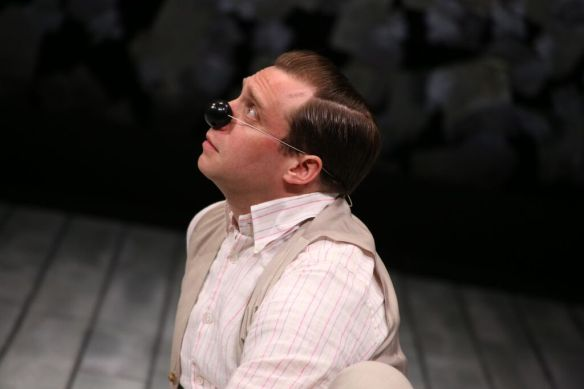Zachary Fine as Crab in Fiasco Theater's The Two Gentlemen of Verona. Photo: Gerry Goldstein