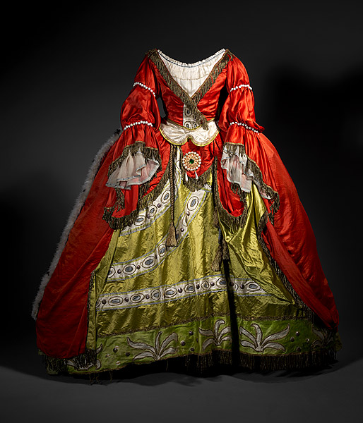Léon Bakst Costume for a lady-in-waiting c.1921 from the Ballets Russes' production of The Sleeping Princess [La Belle au Bois Dormant] National Gallery of Australia, Canberra Purchased 1973