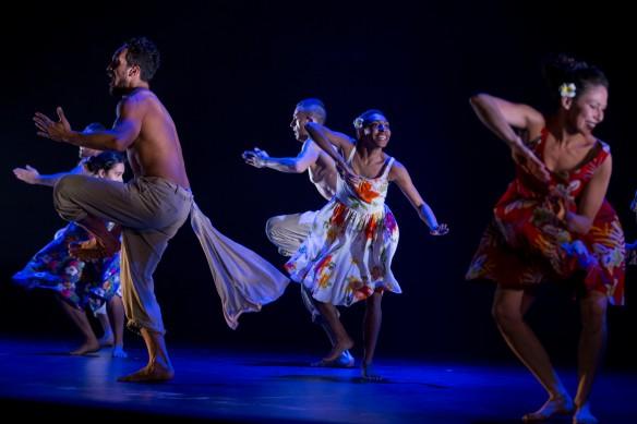 Wanneer Blanco, Yolanda Lowatta and Tara Gower in I.B.I.S. Photo: Jeff Tan