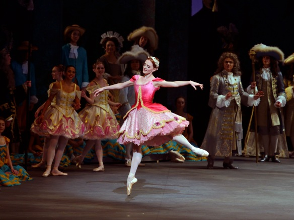 Gillian Murphy as Princess Aurora in The Sleeping Beauty.  Photo: Gene Schiavone.