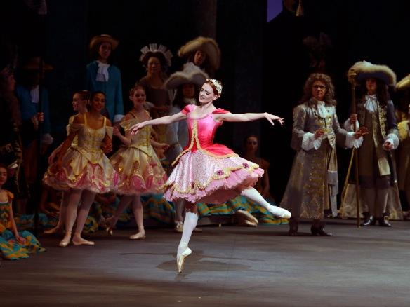 Gillian Murphy as Princess Aurora in The Sleeping Beauty.  Photo: Gene Schiavone.