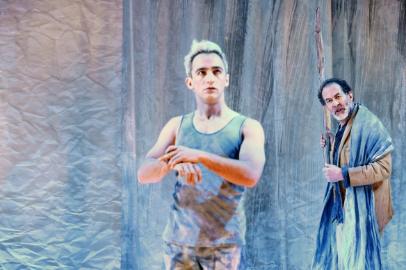 Matthew Backer and Brian Lipson in The Tempest. Photo: Prudence Upton