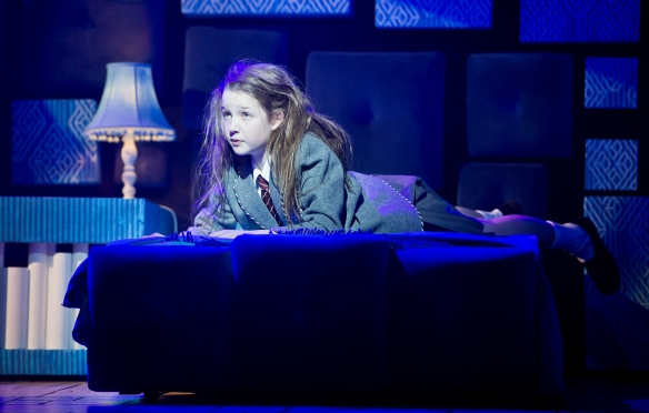 Bella Thomas as Matilda. Photo: James Morgan