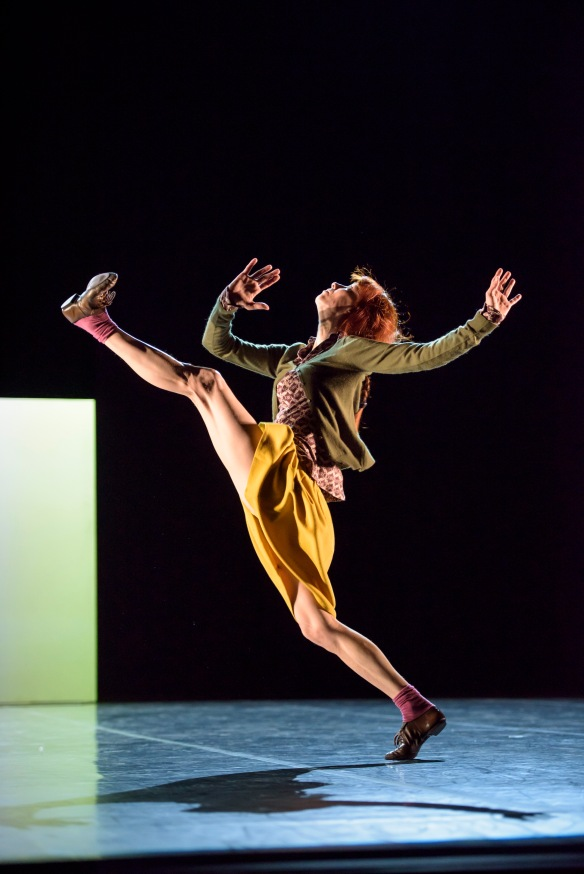 Sylvie Guillem in Mats Ek's Bye. Photo: Bill Cooper