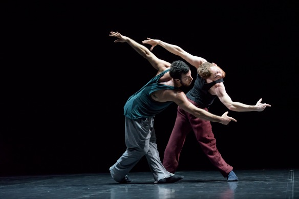 Brigel Gjoka and Riley Watts in Duo2015. Photo: Bill Cooper