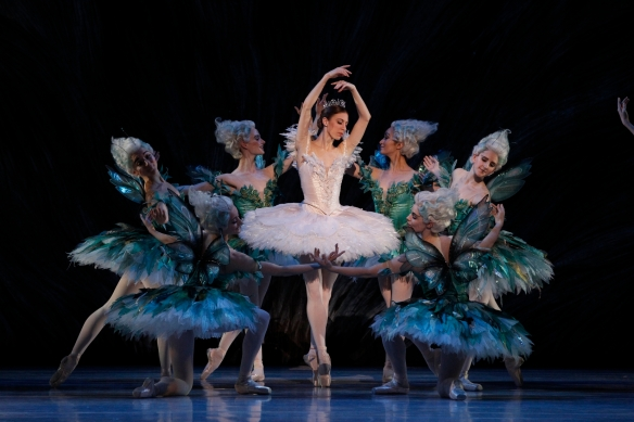 Lana Jones as Aurora in The Sleeping Beauty. Photo: Jeff Busby