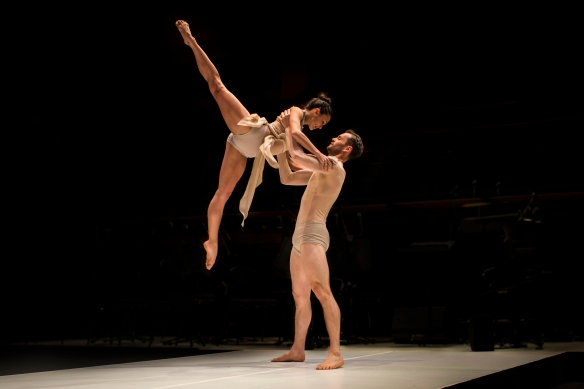 Janessa Dufty and Bernard Knauer In Simple Symphony. Photo: Peter Greig