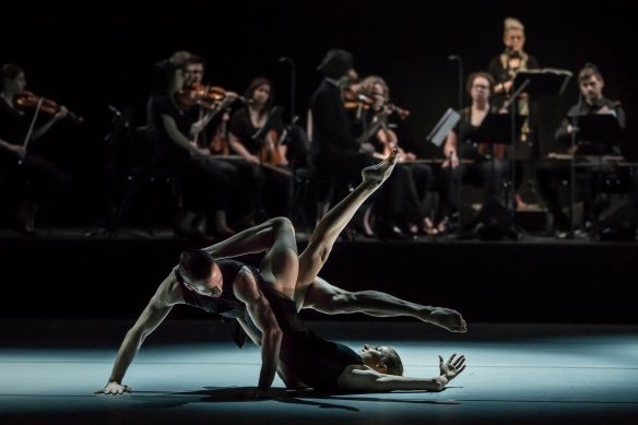 Juliette Barton and Richard Cilli in Les Illuminations. Photo: Peter Greig