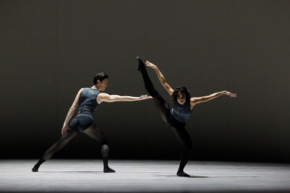 Andrew Killian and Vivienne Wong in Tim Harbour's Filigree and Shadow. Photo: Jeff Busby