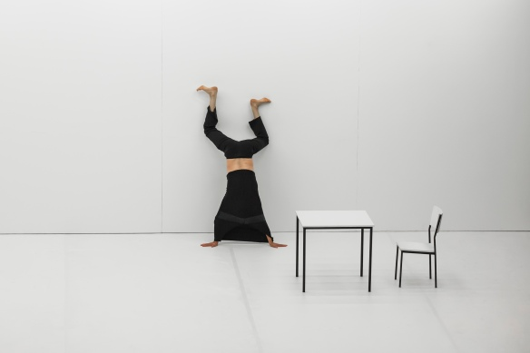 Xavier Le Roy in Self Unfinished. Photo: Peter Greig