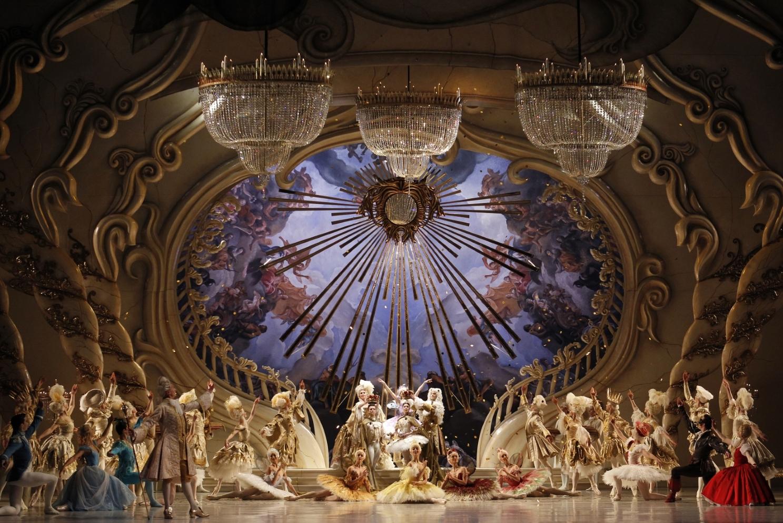 Artists of The Australian Ballet in David McAllister's The Sleeping Beau...
