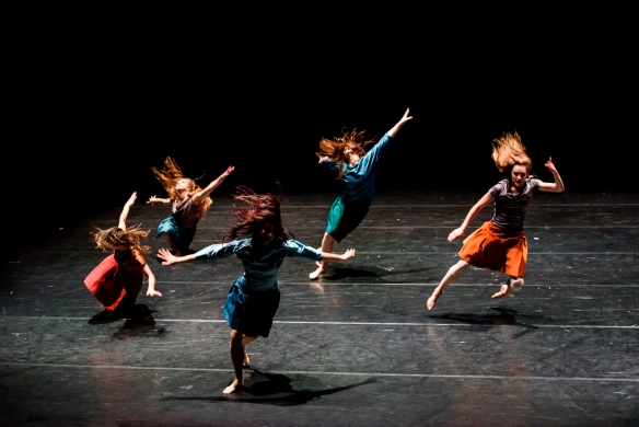 Royal New Zealand Ballet in Selon Desir. Photo: Bill Cooper