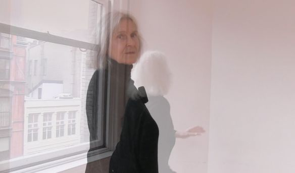 "Deborah Jowitt, in a still from ""Every Day a Little Death,"" one of seven short movies from Dancing Sondheim, an App by Richard Daniels. Photo: Richard Daniels / Dances for an iPhone."