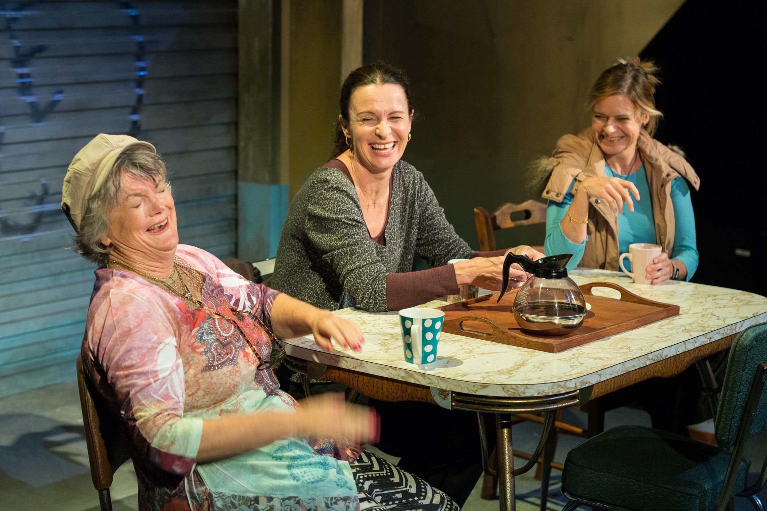 Gael Ballantyne, Tara Morice and Jane Phegan in GOOD PEOPLE, photos by Clare Hawley-26