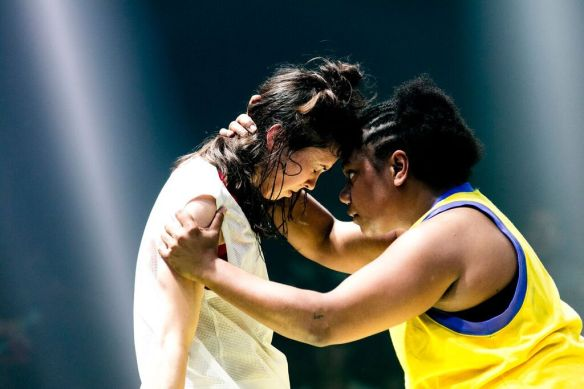 Lauren Langlois and Ghenoa Gela - credit Brett Boardman