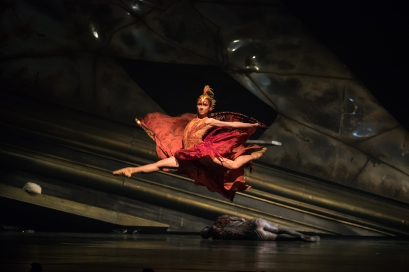 QB The Firebird 2018. Principal Artist Lucy Green. Photo David Kelly
