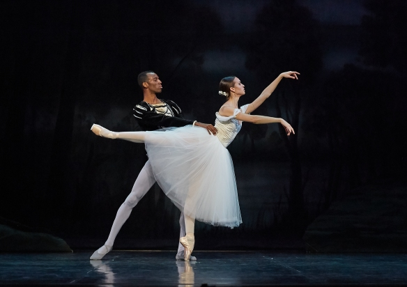 Alexa Tuzil as Giselle and Juan Carlos Osma as Albrecht in Giselle (2019) (2). Photo by Sergey Pevnev