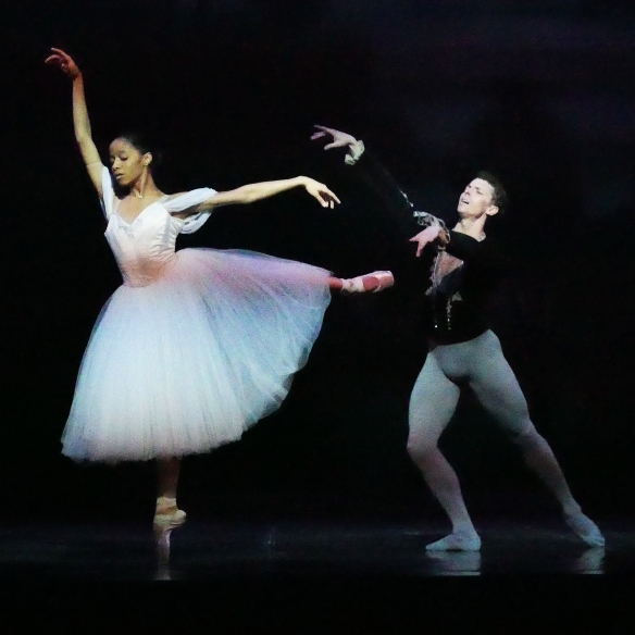 Dayana Hardy Acuna as Giselle with Guest Artist Kevin Jackson as Albrecht. Photo by Scott Dennis (3)